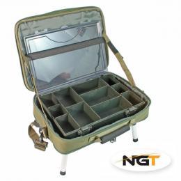 Stolek v kufříku BOX CASE TACKLE BAG WITH BIVVY TABLE - zvětšit obrázek